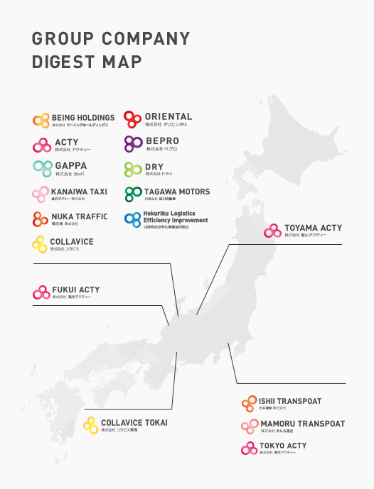 GROUP COMPANY DIGEST MAP